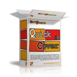 Quick 3D Cover v1.6 (Portable, Crea Cajas de Software Fácilmente