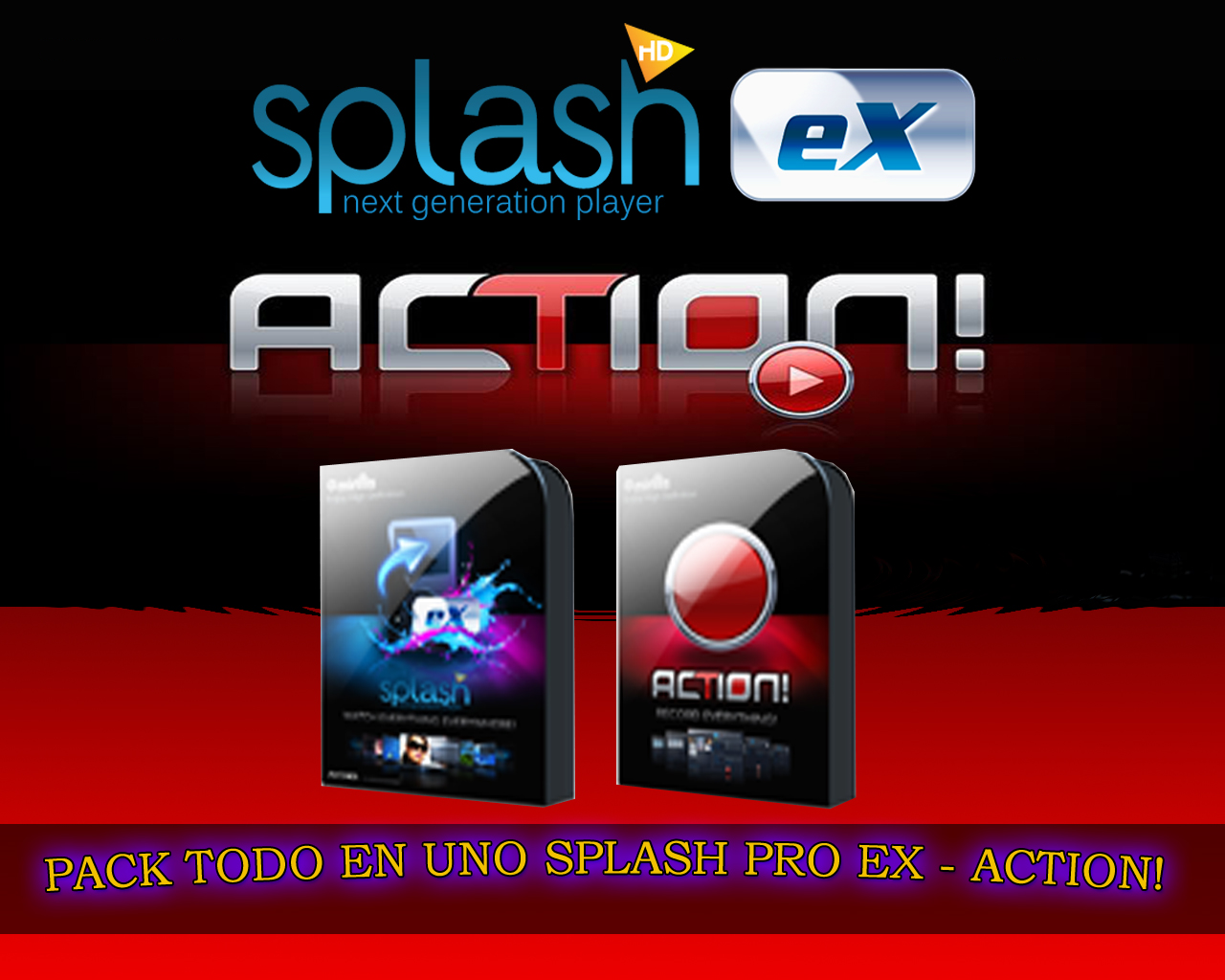Splash PRO EX v 1.13.0 con Action