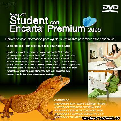Microsoft Student with Encarta for Free Software for Students