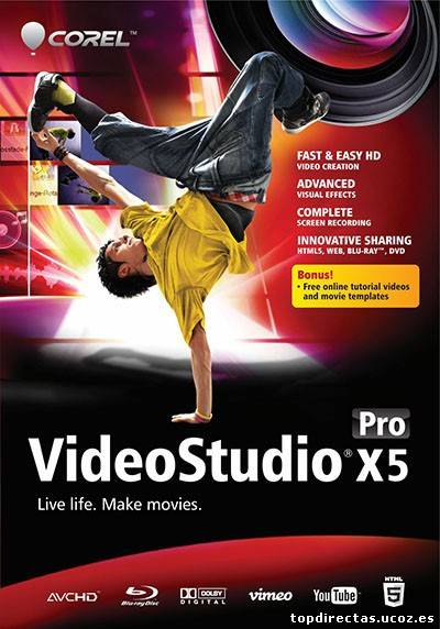 Corel Videostudio X5 Sp1Version 15