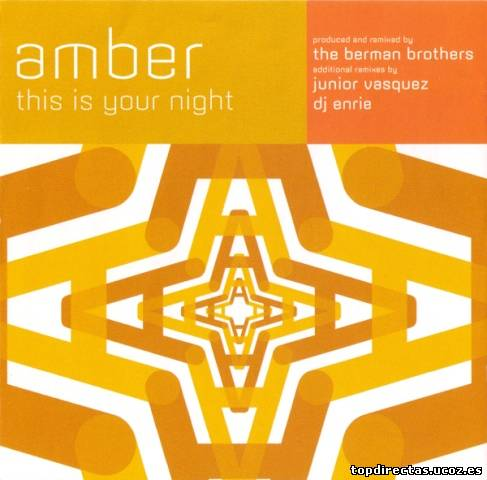 Amber - This Is Your Night (Maxi-CD) 1996