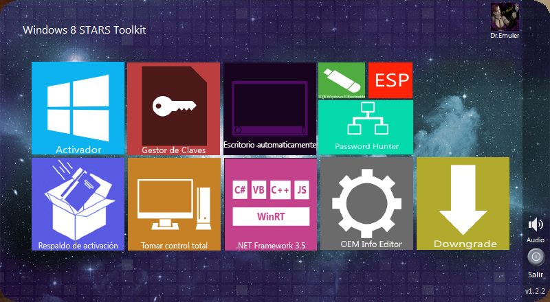 Dr.Emuler Windows 8 STARS Toolkit1.2.2