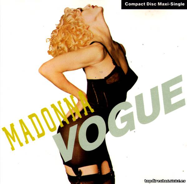 Madonna - Vogue (CD, Maxi-Single) [1990]
